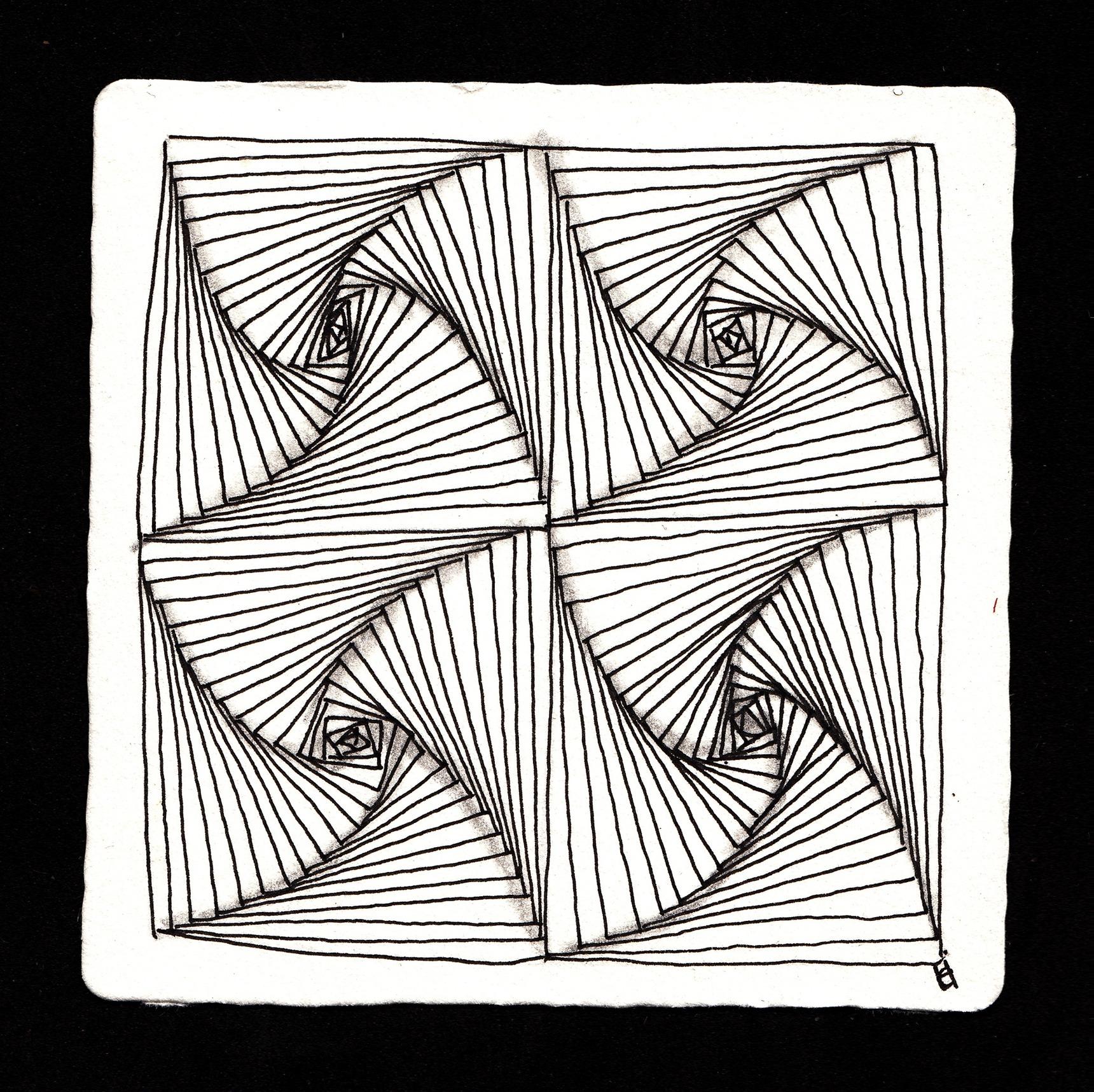 Zentangle 174 Tiles Lois Amp Earl Stokes Czt